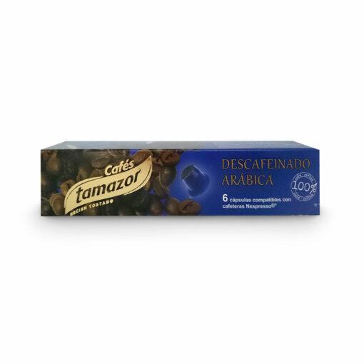 cafe-tamazor-capsulas-nespresso-descafeinado
